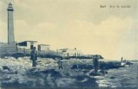 Immagine d'epoca del faro S. Cataldo - Fai click per ingrandire