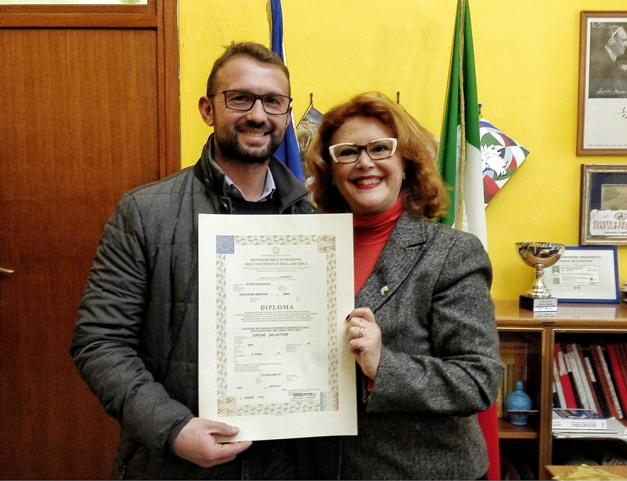 Diploma Salvatore Girone