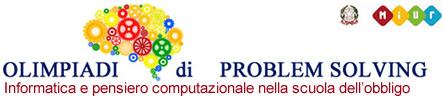 Olimpiadi di Problem Solving 2018-2019. Informatica e pensiero computazionale nella scuola dell'obbligo.