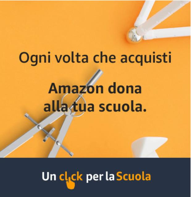 Quando acquistate su Amazon ricordatevi dell'IISS MARCONI-HACK. Per ogni acquisto fatto, il 2,5 per cento della cifra spesa va alla scuola scelta.